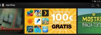 100€ di Applicazioni e Giochi Android in regalo grazie ad Amazon App-Shop!