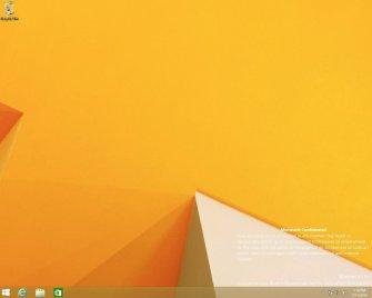 Trapela online uno screenshot della build 9788 di Windows 9
