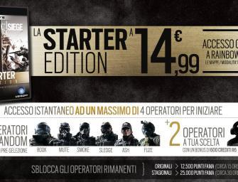 Ubisoft lancia Tom Clancy's Rainbow Six Siege Starter Edition in esclusiva su Uplay