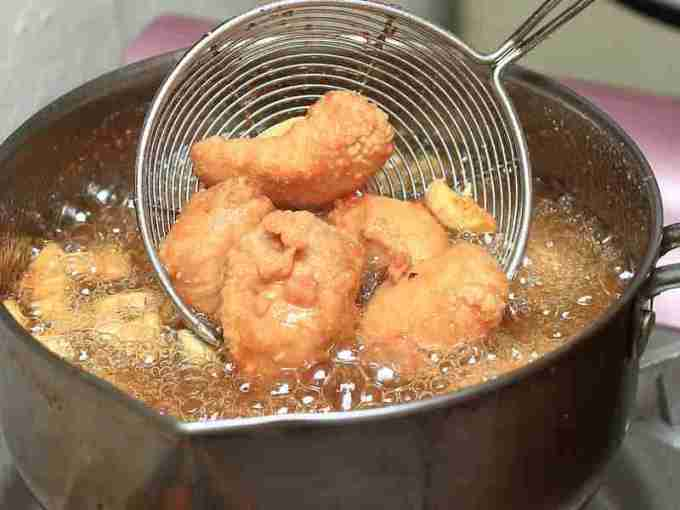 蒜味鹽酥雞