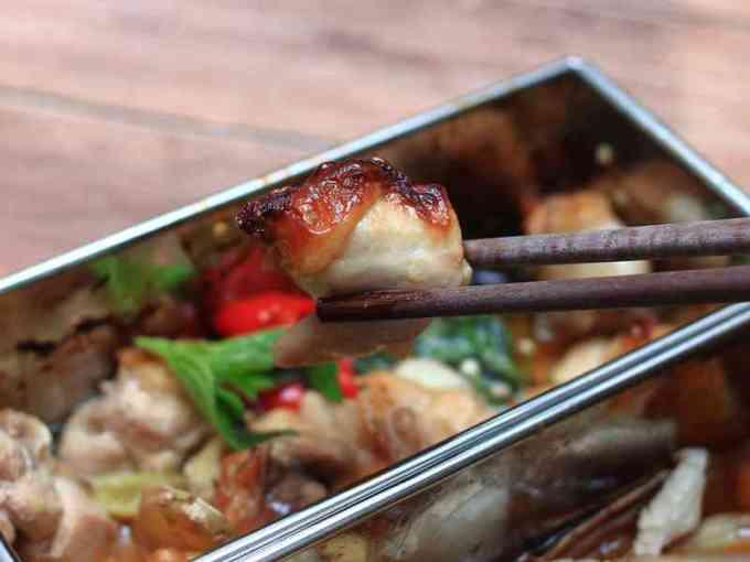 芝初芝麻油 - 烤箱兩道菜:三杯雞、麻油松阪豬 (邀約體驗)