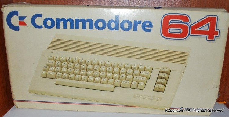 Vintage Computer Commodore C 64 BOXED PAL Version VERY