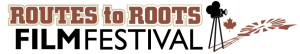 Routes to Roots Film Festival logo R2RFF Norfolk County Canada