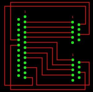 Amiga multiplayer joystick adaptor