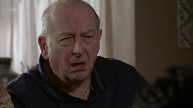 Coronation Street:Could Geoff start getting violent with his wife as they self-isolate?