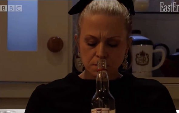 EastEnders spoilers: Linda hits the bottle once more - will she be okay? (Image: BBC)
