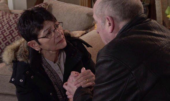 Coronation Street spoilers: Yasmeen Nazir blames herself for Geoff Metcalfe's villainous ways.