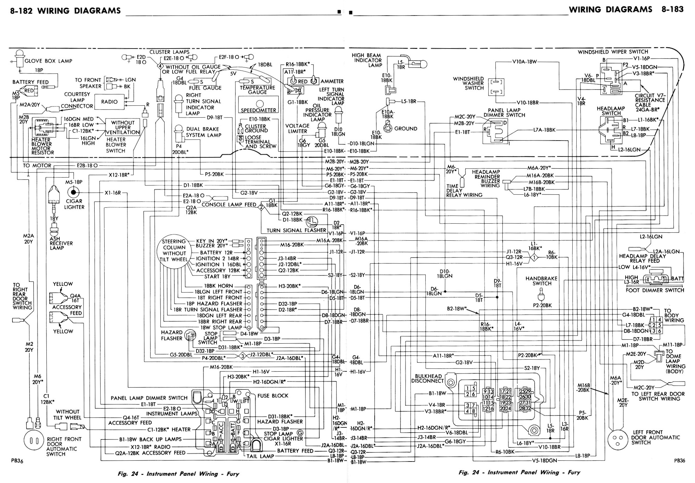 Plymouth Barracuda Ignition Wiring Diagram Plymouth