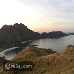 جزيرة كومودو - اندونيسيا