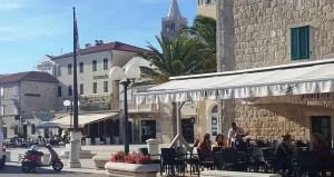 Rab town - Square Municipium Arba