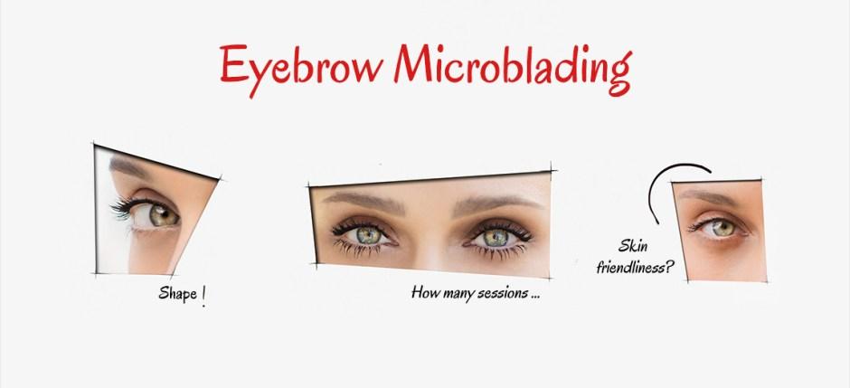 eyebrow microblading egypt rabab kelani
