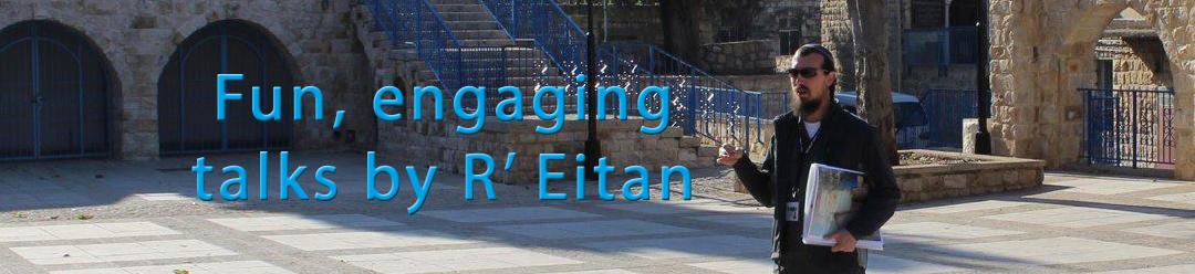 Talks Lectures Engaging Rabbi Eitan