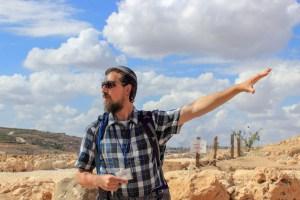 Eitan explaining shilo clouds