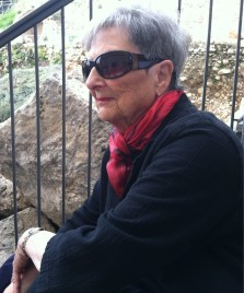 My dear friend, and surrogate mother, Nancy Ruth.