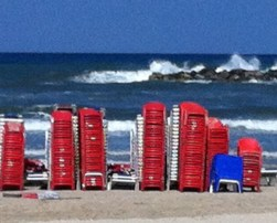 Israel - tel aviv = beach make cover
