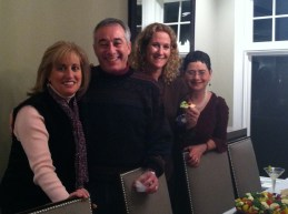 Lorena and Adam Blonsky, Nancy Taxman, Sara Hoffman