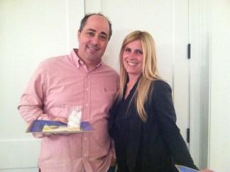BT President, Andy Lask, and Natasha Adelstein