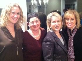Nancy Taxman, Sara Hoffman, Me, Lorena Blonsky