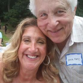 Cindy Braun and Arnie Katz