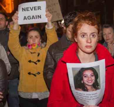 Savita Protest