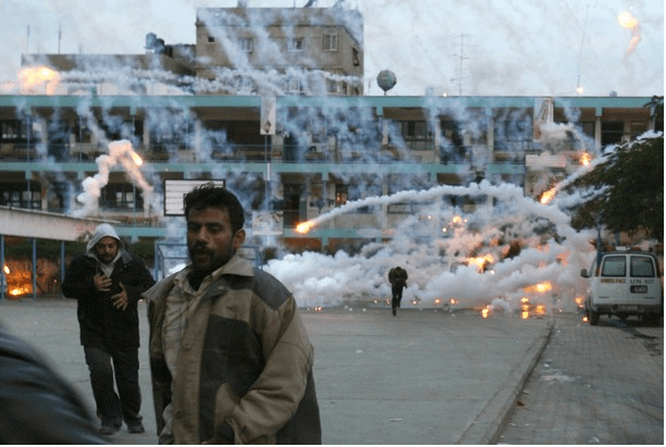 Israel bombs school with White Phosphorous in 2009