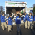 FEMA workers being fed by Occupy volunteers