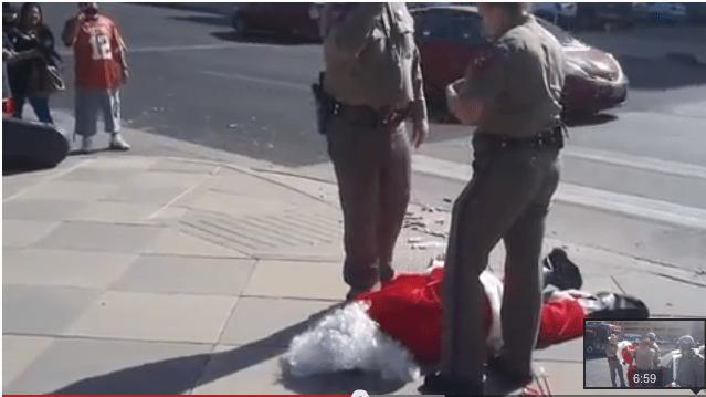 Santa Arrested in Austin, Texas