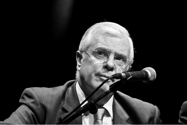 Peter Mathews TD (photo © Paul Reynolds)