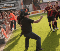 pitch invasions