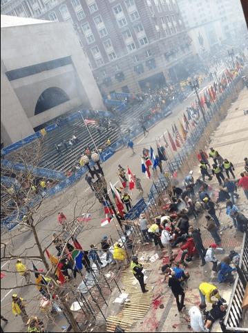 Explosion(s) at Boston marathon finish line