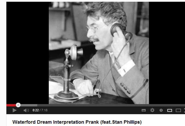 Waterford Dream Interpretation Prank (feat.Stan Phillips) - YouTube