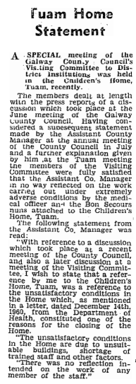 Connacht Tribune 1961