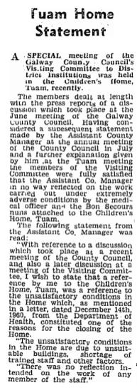 Connacht Tribune 1961