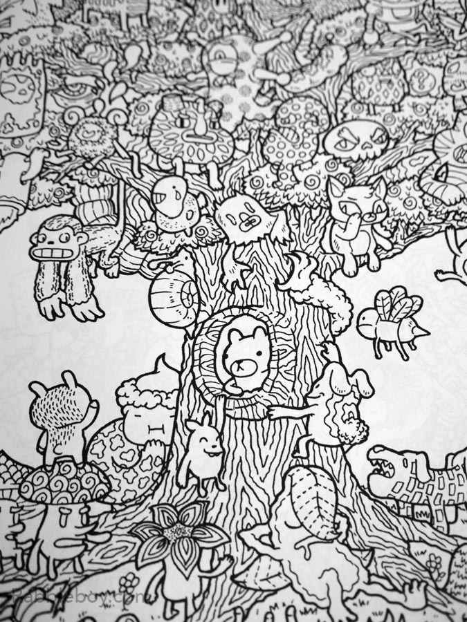 Get Wacky Creative With Adult Coloring Book Doodle Fusion