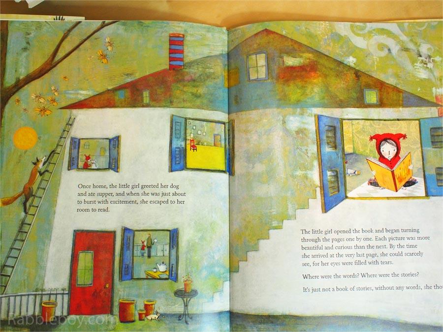 The Whisper by Pamela Zagarenski picture book P1160031
