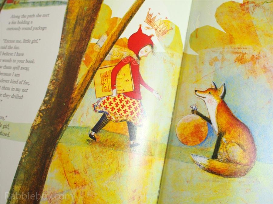 The Whisper by Pamela Zagarenski picture book P1160037