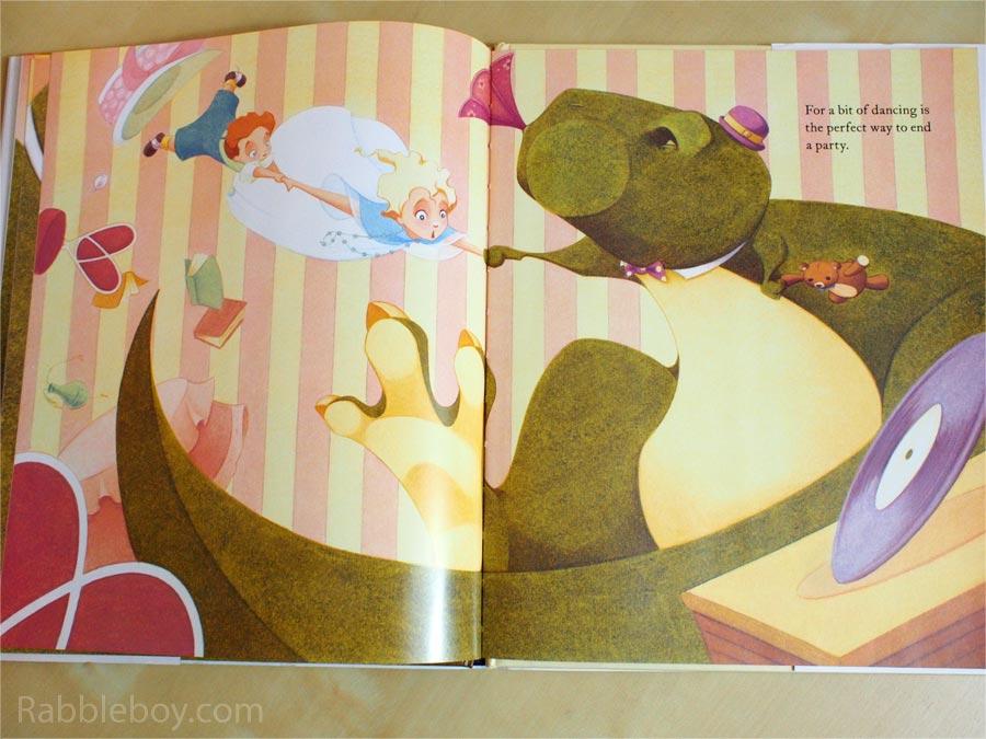 tea rex dinosaur children s book by molly idle rabbleboy