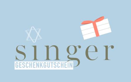 Singer Geschenkgutschein