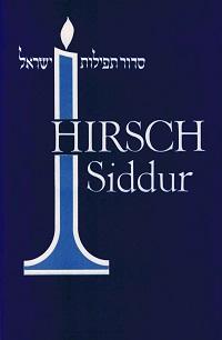 Cover Hirsch Siddur