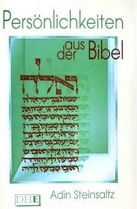 Cover Steinsaltz_Persoenlichkeiten_aus_der_Bibel
