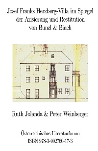 Cover Jolanda_Weinberger_Josef Franks_Herzberg_Villa