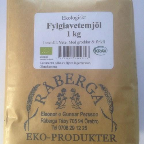 Fylgiavetemjöl 1 kg, med groddar och finkli