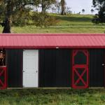 Horse Barns Raber Portable Storage Barns