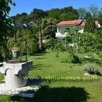 Rab LOPAR IV holiday apartments near nudist beaches, ferry