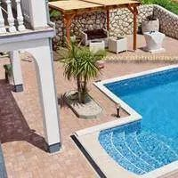 Summer vacation house VALENTINA on Rab island with swimming pool