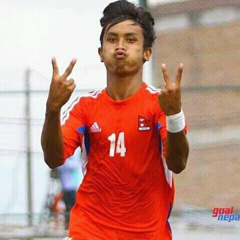 Anjan Bista, Nepali Footballer
