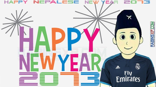 HAPPY NEPALESE NEW YEAR 2073 MANCHESTER REAL MADRID FC