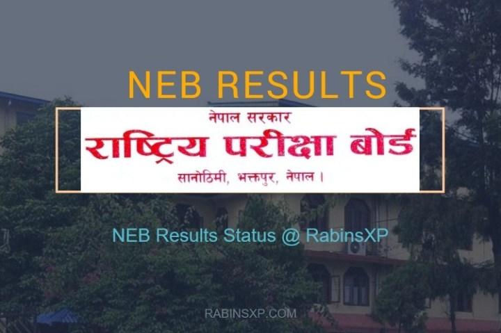NEB Class XI Result 2074 Published Status