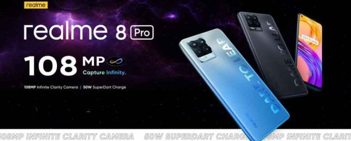 Realme 8 Pro Leaked Poster