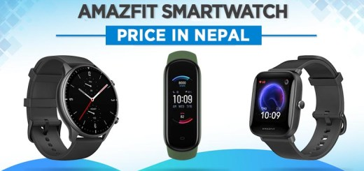 Amazfit Smartwatch Fitness Band Price in Nepal specs features where to buy neo tracker 5 gts gtr 2 mini 2e
